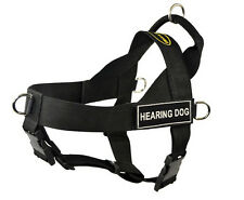 Hearing Dog No Pull Universal Harness with Patches