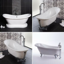Freestanding Bath Traditional Slipper Roll Top Single Double Ended Bathroom Tubs