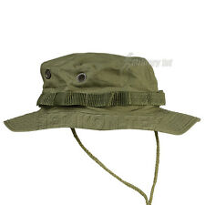 ARMY GI BOONIE HAT + NECK PROTECTOR FISHING OLIVE S-XL