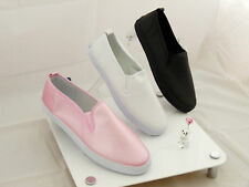 Raben Shoes Slip On Synthetic Leather Black Pink White