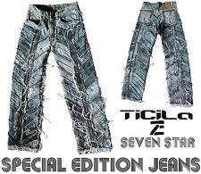 Ticila SEVEN STAR INDIAN Special Edition Handmade Jeans