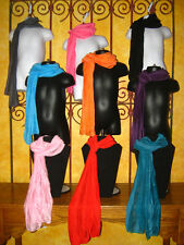 NEW Girls Size Accessory Scarves Silky NWT Scarf Colors