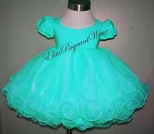 National Pageant Dress Shell  sizes 6mos to 3/4 Toddler