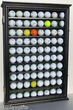 80 GPA Golf Ball Designer Cabinet Display Case Wall Rack, with Glass Door: GB80