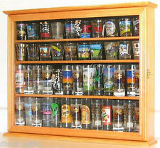 Tall Shot Glass Shooter holder Display Case Shadow Box Wall  Rack Cabinet : SC04