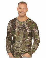 CODE V REALTREE Mens Size S-2XL Long Sleeve Camouflage T-shirt APG AP CAMO c3981