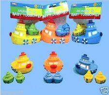 Mummy & Baby Tug Boats for Baby Bath Time Fun Toy