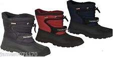 Boys Waterproof Snow Boots Fur Lined Wellies uk children sizes CLEARANCE  PRICE