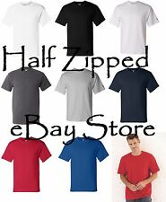 Champion Mens Short Sleeve Cotton T-Shirt T425 S-3XL Tagless NEW
