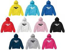 Kids Custom Printed Hoodie 3-12 Years Hooded Sweatshirt Customised Personalised
