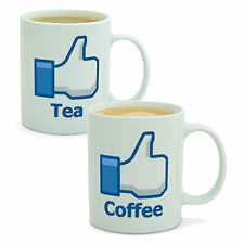 Facebook Style Like Tea or Coffee Mug - NEW GIFTS & GADGETS