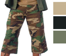 Military BDU Capri Rip-Stop Fatigue Pants