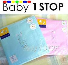 Baby Ultra Soft Brushed Cotton Wrap / Blanket for Pram / Cradle Choice of colour