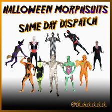 MORPHSUITS HALLOWEEN Morphsuit Fancy Dress Costumes VAMPIRE MUMMY WITCH & MORE!