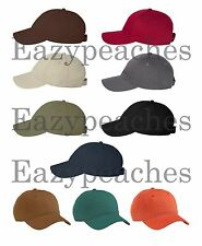 Econscious NEW UNISEX 100% Cotton Twill Organic ECO Baseball Hat Golf Cap 7000
