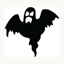 Ghost Sticker Halloween Scary Haunting Boo Car Window Vinyl Decal Graphic Fun
