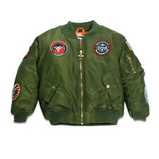 Up and Away Infant & Toddler MA-1 Flight Jackets