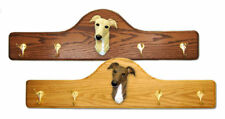 Greyhound Dog Figure Coat Rack. Home Decor Dog Breed Pet Products & Dog Gifts