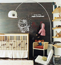 Christmas Decoration Shop Sign Children Wall Stickers / Wall Decals / Wall Mural