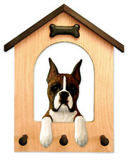 Boxer Dog House Leash Holder. In Home Wall Decor Products & Dog Gifts.