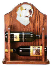 Clumber Spaniel Dog Breed Portrait Wine Rack Home Decor.Decorative Wood Products