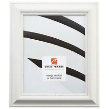 Craig Frames American Classic, Weathered White Pine Wood Picture Frame