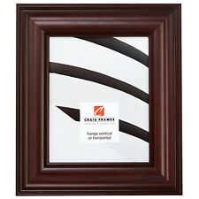 Craig Frames  Rosewood, Contemporary Burgundy Red Wood Picture Frame