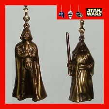 STAR WARS DIE CAST METAL FAN PULLS-DARTH VADER/OBI-WAN KENOBI/LUKE SKYWALKER
