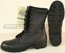 Genuine US Army FULL LEATHER Speedlace PANAMA SOLE Combat Boots NIB Made in USA