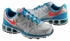 NIKE AIR TURBULENCE 17 WOMENS/LADIES SHOES/RUNNERS WHITE/SILVER/BLUE US SIZES!