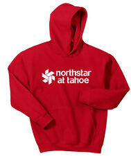 Gildan Hoodie Sweat Shirt NORTHSTAR LAKE TAHOE Snow Ski Boarding Gift Vacation