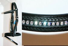 Stubben 1009 Shannon German CRYSTAL COMFORT Bridle MADE WITH SWAROVSKI ELEMENTS
