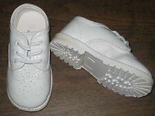 WHITE PATENT WINGTIP OXFORDS Boys Infant & Toddler Sizes 1 to 10 NEW