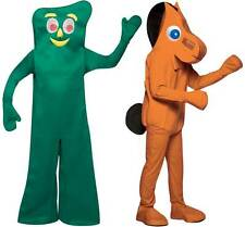 Adult One Size TV Show Gumby Pokey Clay Stop Motion Animation Halloween Costume