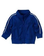 GYMBOREE SLAM DUNK BLUE WARMUP ACTIVE JACKET 12 24 NWT