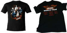 Aerosmith: Band In Flames World Tour 2010 T-Shirt - New & Official [4 Sizes]