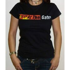 "At The Gates ""Logo"" Girlie T-shirt - NEW OFFICIAL womens slaughter of the soul"