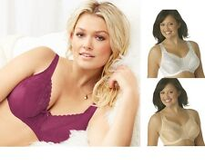5 PLAYTEX Secrets Floral bras, Style 4422 ALL COLORS