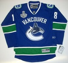 CHRISTOPHER TANEV VANCOUVER CANUCKS 2011 CUP JERSEY