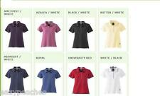 ADIDAS GOLF Ladies Size S-XL 2XL Climalite Stretch Interlock Womens Polo Shirts