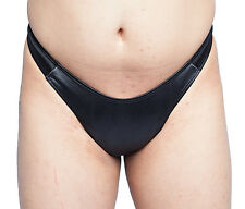 "Ultimate Hiding Gaff Panty For Crossdressing Men Black ""Satin"""