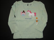 Gymboree NWT FAIRY WISHES Top Shirt Unicorn Lets be friends 2 2T 3 3T 4 4T 5 5T