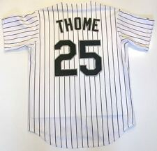 JIM THOME CHICAGO WHITE SOX MAJESTIC JERSEY