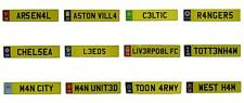 OFFICIAL - FOOTBALL CLUB - METAL NUMBER PLATE DOOR WALL SIGN - NEW GIFT XMAS