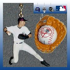 MLB NEW YORK YANKEES JETER FIGURE & CHOICE OF HELMET/BASE/GLOVE CEILING FAN PULL
