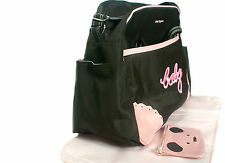 11 DIFFERENT STYLES OF BABY DIAPER NAPPY CHANGING BAG SETS / HAND BAGS (BAB CAR)