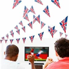 13 - 55ft Weatherproof Union Jack Bunting Flag Diamond Jubilee Olympic Party