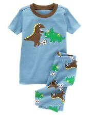 GYMBOREE DINO PLAYING SOCCER  2pc PAJAMAS 6 12 18 24 2T 4 5 6 7 8 10 12 NWT