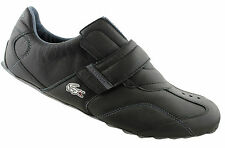 LACOSTE SWERVE KEYLINE MENS LEATHER CASUAL VELCRO SHOES/SNEAKERS/FASHION/SLIP ON