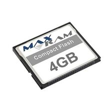 4GB Compact Flash Memory Card for Canon Digital IXUS 400 & more